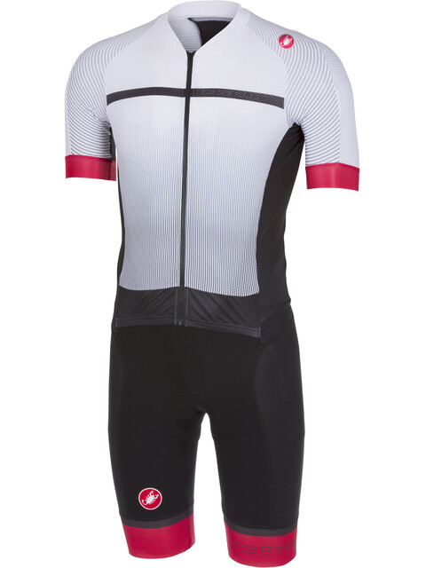 Castelli Sanremo 3.2 Speedsuit Men white/black